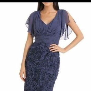 Rosette Embellished Dress by JS Collection mini
